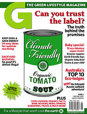 G: The Green Lifestyle Magazine, Issue 6, December 2007