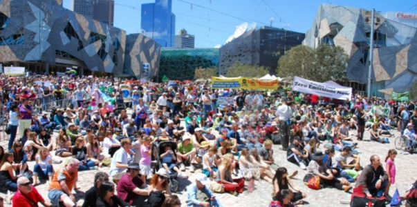 Image:2008 Walk Against Walming Federation square.jpg