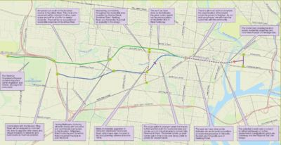 Westlink route options