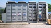 Sodium sulphur grid-attached batteries. Credit: American Electric Power