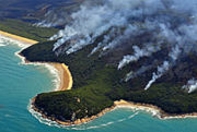 Bushfire burning at Wilsons Promontory since February 8