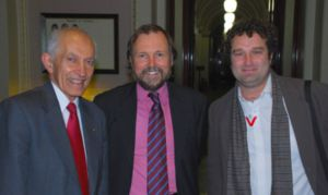David de Kretser, Philip Sutton and Adrian Whitehead