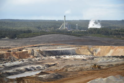Anglesea coal mine and power station