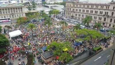 Peoples Climate March Brisbane 2015