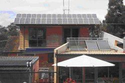 Greensborough house 2.5 kW array