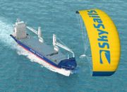 The Skysail in use