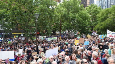 Peoples Climate March Melbourne 2015